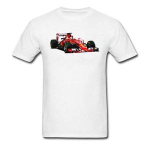 Wholesale Cool T Shirt Mens White Red Classic Grand Theft Auto T Shirt Funny Gamer Tshirt Custom O Neck GP Car Race T Shirts Popular