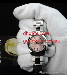 Wholesale Hot money Luxury NEW Mid Size mm Pink Index SANT BLANC Automatic Ladies Women Watches