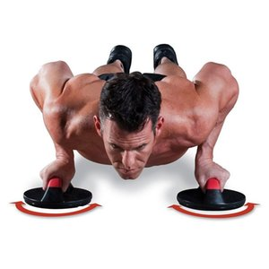 Wholesale Power Training Rolling Pushups Stands Gym Exercise Chest Arm Body Building Fitness Equipment Tools
