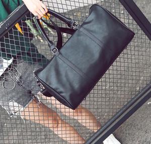 New fashion men's and women's travel bag duffel bag,brand designer luggage bag large-capacity sports bag 55CM