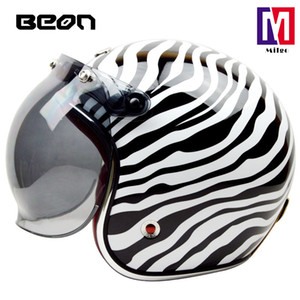 Wholesale half scooter open face motorcycle resale online - 2018 BEON B summer women and men motorcycle half helmets adventure touring motorcycle scooter open face helmet