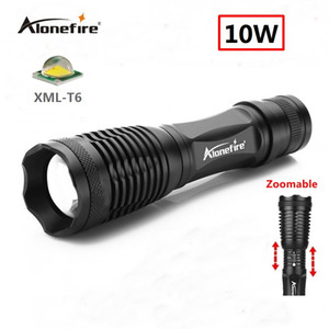 Wholesale Alonefire E007 CREE XM L T6 Flashlight light charging super bright waterproof multi function long range outdoor household mini LED