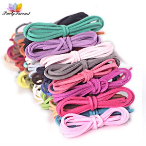 Wholesale PF mm m Multicolor Cord Korean Velvet Suede Leather Rope Thread for Diy Handmade Braid Jewelry Making Decoration String