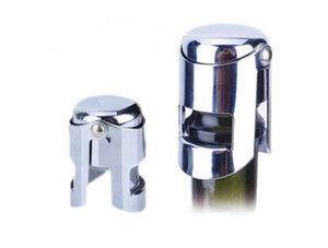 Stainless Steel Champagne Stopper Sparkling Wine Bottle Plug Sealer Free Shipping&Wholesales