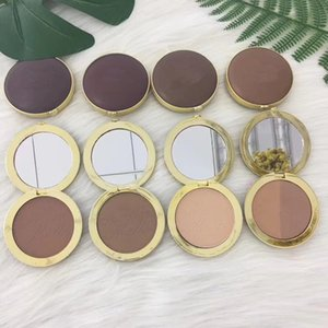 Wholesale cocoa powders for sale - Group buy Hot Christmas Sale Makeup Chocolate Soleil Bronzer Cake Powder Long wear matte Pressed Cocoa Face Contour Cosmetics Powders