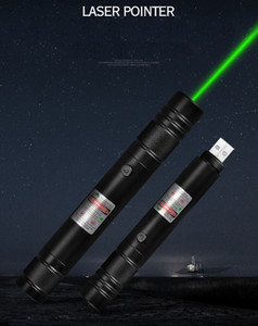 New Style BGD6 532nm Green Laser Pointer Pen Built-in Rechargeable Battery Lazer Pointer For Office and Teaching