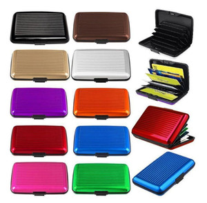 Wholesale New Business ID Credit Card Holder Wallet Mini Suitcase Bank Card Name Card Holder Box Case Cardholder Organizer