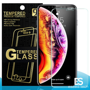 Wholesale FOR NEW Iphone PRO X XR XS MAX X Tempered glass For Samsung A10 A20 A30 A40 A50 Huawei P20 P30 Screen Protector Package mm