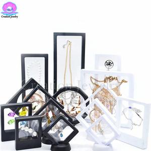 Wholesale Wholesale High Quality 2018 3D Floating Frame Display Holder Box with Stands for Challenge Coins, Medallions, Jewelry