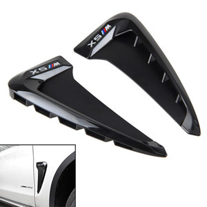 chrome fender vent Side Body Marker Fender Air wing Vent Trim Cover Chrome for BMW X5 F15