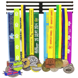 Three Rack Iron Sport Medal Hanger Medal Rack