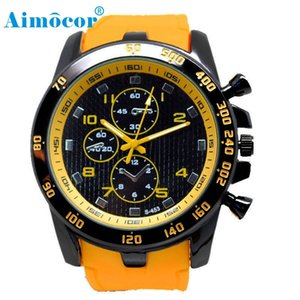 Wholesale 2017 Newly Designed HOT Stainless Steel Luxury Sport Analog Quartz Modern Men Fashion Wrist Watch