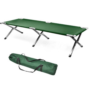 Wholesale Folding Portable Camping Bed Military Sleeping Hiking Camping Guest Travel Cot