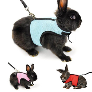 Small Pet Harness Leashes Soft Breathable Harness Leash Lead for Hamster Rabbit Guinea Pig Rat Ferret Cat