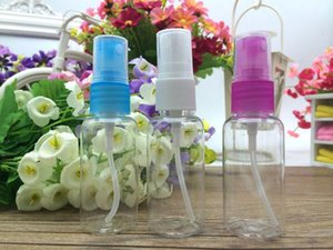 Hot sale 10ml Empty Cosmetic Container high quality PET Plastic Spray Bottles for Make Up and Beauty Skin Care