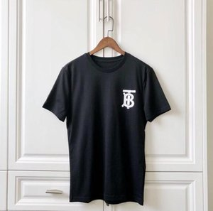 Wholesale High street harajuku T shirt short sleeved Tee shirts skateboard Crew Neck casual Male and female Riccardo Tisci BUR Tshirt