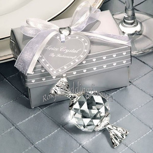 Wholesale baby showers favors for sale - Group buy 50pcs Choice Crystal Candy Favors Baby Shower Wedding Gifts Kid Birthday Keepsake Event Decoration Supplies Anniversary Gifts