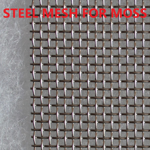 Stainless steel mesh for moss Live plants Aquatic Aquarium Fish tank Many sizes SMALL NO MOSS on Sale