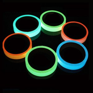 10MM 3M Luminous Bike sticker Self-adhesive Bicycle Tape Night Vision Glow In Dark Safety Warning Security sticker for cycling s on Sale