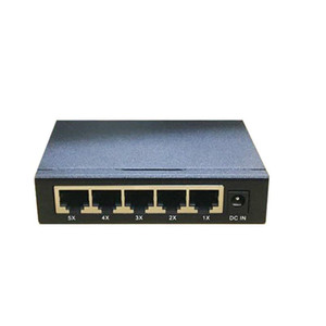 Network switches factory US EU plug laptop 5 Port Gigabit Ethernet switch cheaper 5 ports switch 10 100 1000