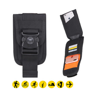 Wholesale 6 Nylon Tactical Holster Military Molle Hip Waist Belt Bag Wallet Phone Pouch Purse Case for iphone x samsung s9 s8