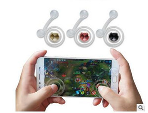 Wholesale ipad mobile games rocker handle joystick games artifact tablet phone hand travel button sucker Figure Toys Mobile Game handle