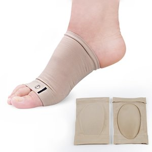 Silicone bandage arch support foot pads forefoot insole ankle pads flatfoot tibial Pain socks Foot heart cover