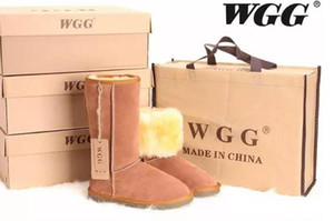 Wholesale Hot sell High Quality WGG Australia Women s Classic tall Boots Womens boots Boot Snow Warm and comfortable Winter leather boots