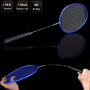 LOKI Ultra Light Full Carbon Badminton Racket Professional Training Badminton Racquet 4U 22-30 LBS free Gift String Bag