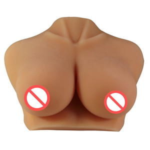 Wholesale sex doll big breast boobs for sale - Group buy Hot sale Big breasted sex dolls with vagina masturbator gift huge boobs sex toys dolls japanese love doll men Top Quality adult Products