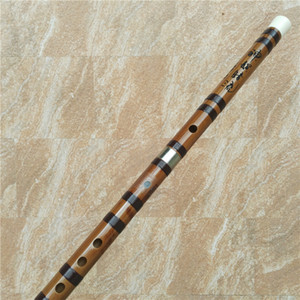 A008 Concert Grade Professional Dizi Flute Made of Bitter Bamboo Wood Advanced Music Toy