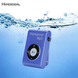 HIPERDEAL 2018 4GB Mp3 Player Mini Clip player mp3 HiFi Music Media Support waterproof FM Recorder Sport Running QIY26 D23
