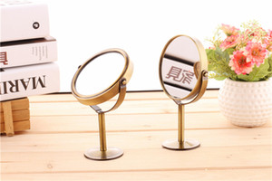 New desktop make-up mirror retro round dresser on Sale