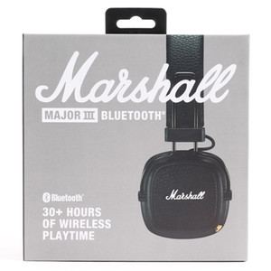 MARSHALL MAJOR III BLUETOOTH headphones With Mic Deep Bass Hi-Fi DJ Headset Professional MARSHALL MAJOR 3.0 headphones bluetooth headsets