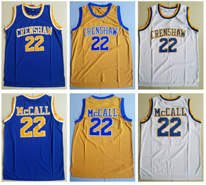 ingrosso i film delle scuole superiori-Mens Love and Basket Movie Jersey Quincy McCall Crenshaw High School Basket Jersey a buon mercato Shirt S XXL