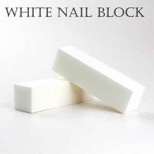 Good Quality Wholesale White Buffing Sanding Files Block Pedicure Manicure Care Nail File Buffer for Salon Free Shipping on Sale