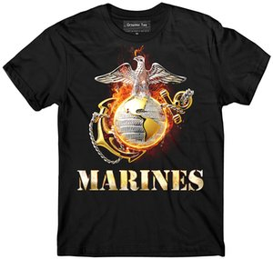 Wholesale Marine Corps t shirt Devil Dogs t shirt USMC Army Navy US Military t shirt