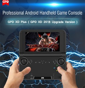 Wholesale 2018 GPD XD Plus G G IPS PC Game Console Gamepad Wifi MT8176 Quad Core Original Portable Game Players Retro Tablet