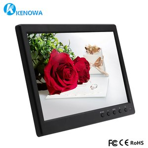 Wholesale 10 IPS LCD HD Monitor Computer PC Display Color Screen Channel Video In Security Monitor With Speaker HDMI LED USB