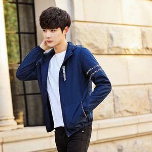 Wholesale 2018 new stock spring Student jacket Korean tide Slim handsome men s clothing