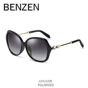 Wholesale Luxury Rhinestone Sunglasses Women Polarized Female Sun Glasses For Driving UV Ladies Eyeglasses Black With Case