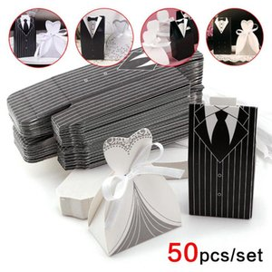 Wholesale Suit design Wedding Candy Box Creative candy bag with Suit design Favor Event Gift Party Candy Bags