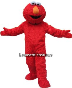 Wholesale High quality adult size Sesame Street elmo mascot costume Halloween Outfit Fancy Dress Suit Blue cookie monster adult clothes