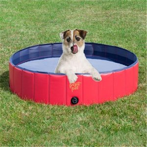 Wholesale Pet Supplies Swimming Pool Foldable Pools Dog Cat Cool Puppy Play Bath Basin Eco Friendly Pvc Cleaning Products qb2 ii
