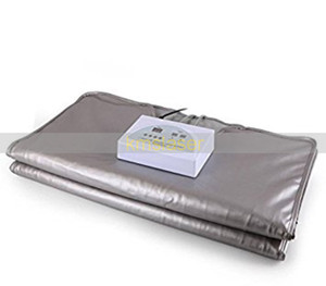 Wholesale 2 Zones Salon FIR Infrared Sauna Slimming Blanket Anti ageing Fat Reduce Machine