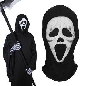 Scream Full Face Masks Death Grim Reaper Ghost Tactical Army Party Halloween Costume Cosplay Winter Warmer Balaclava