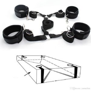 Wholesale Adult Sex Bondage Toy Under The Bed Matress Restraint System with Padded Wrist Ankle Cuffs Kinky Sex Toys