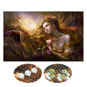 Special Shaped Diamond Embroidery Beauty Lady 5D Diamond Painting Cross Stitch 3D Diamond Mosaic Decoration Christmas