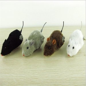 Winding, winding, plush, little mice, stringing, rats jumping, wagging tails, wholesale pet toys. on Sale