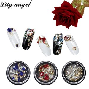 Lily angel 2018 Newest Nail Rhinestone Decorations Nail Glitter Charms Nails Design Manicure 3D Art Decorations